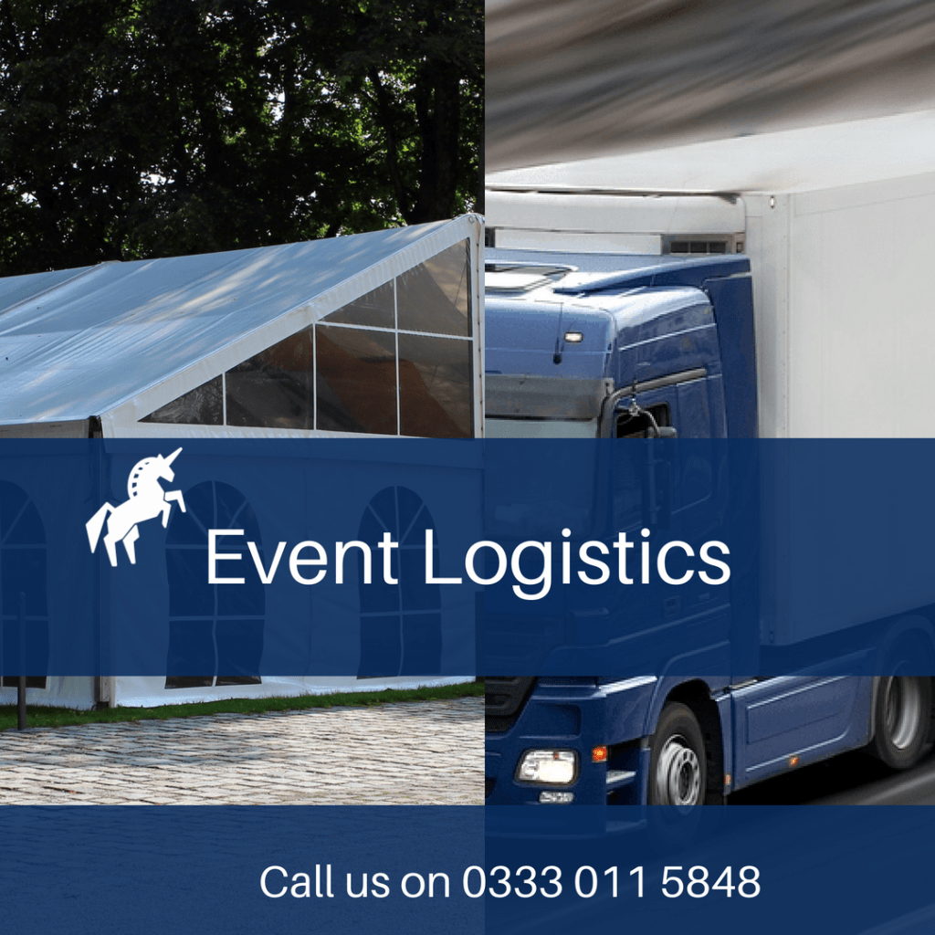 event logistics, courier for events