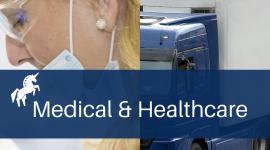 medical transport, medicine couriers